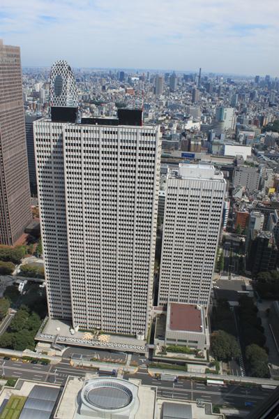 京王プラザホテル・本館(左)/南館(右)