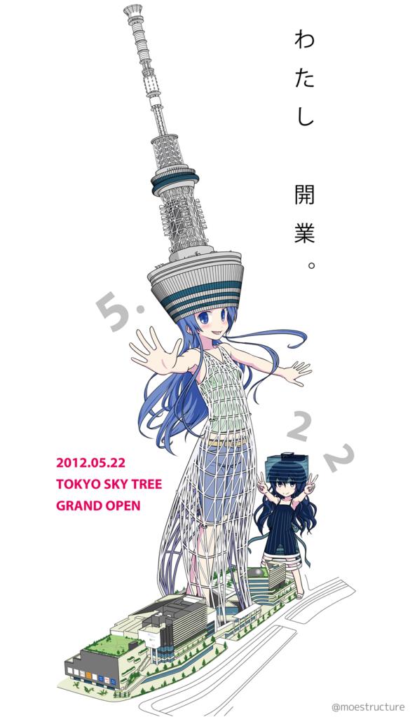2012年5月22日東京スカイツリー開業記念