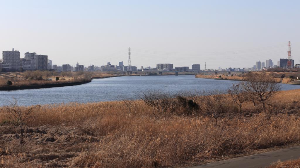 江北JCT西側