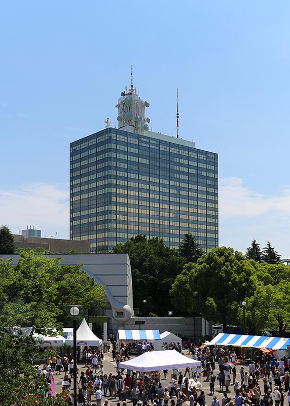 NHK放送センター本館